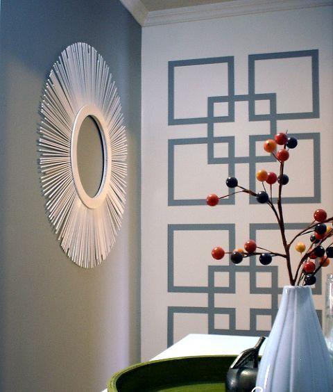 Diy Mosaic Accent Wall Painters Tape: 12+ Unbelievable Interior Painting Valspar Ideas