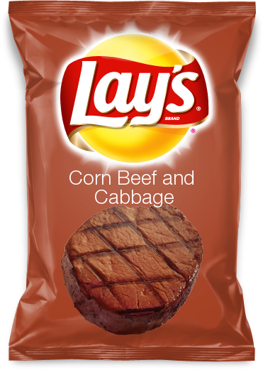 Corn Beef and Cabbage | Lays Chips Flavor Contest in 2019 | Lays