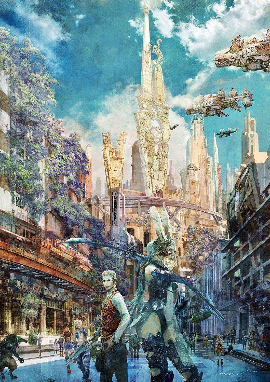 Final fantasy xii the zodiac age poster final fantasy
