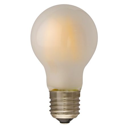 Dimmable A60 Filament Led Bulb Frosted Glass Cover Led Filament Bulb Vintage Led Bulb Led Panel Light China Le Vintage Led Bulbs Led Panel Light Led Bulb