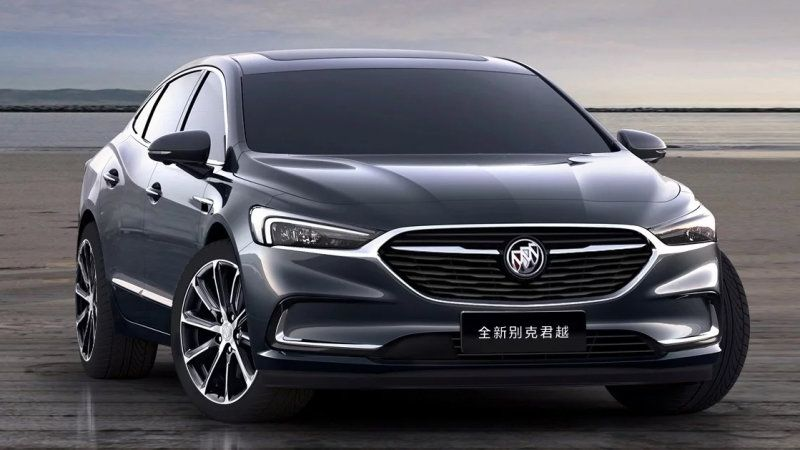 2020 Buick Lacrosse Shows A Handsome New Face But Not For The U S Buick Lacrosse Buick Lacrosse