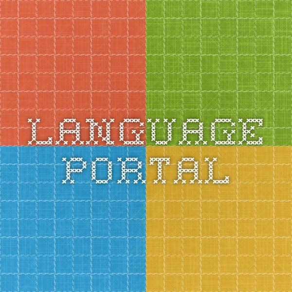 Language Portal  Microsoft  Useful