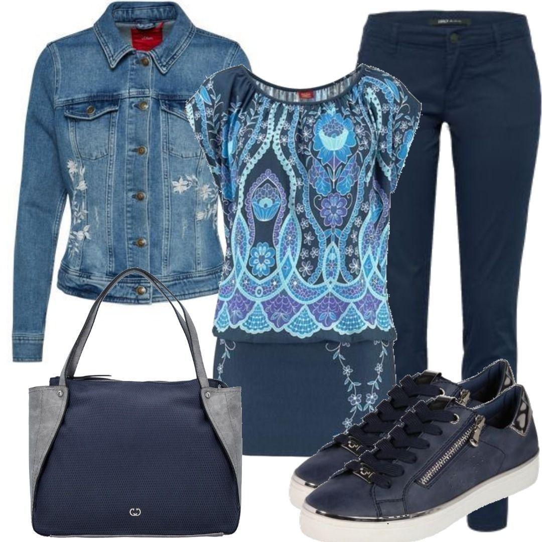 3abc7027df3e57 Buffalo Longshirt marine Outfit für Damen zum Nachshoppen auf Stylaholic   outfits  styleinspiration  outfitideas
