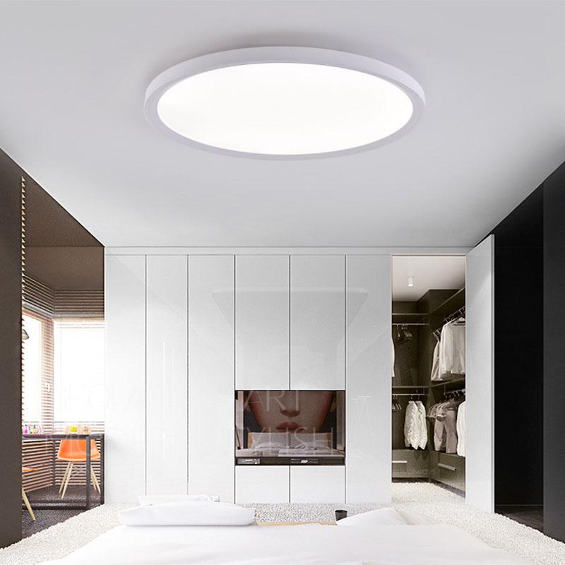 Led Deckenleuchte Rund In Weiss 24w In 2020 Ceiling Lights