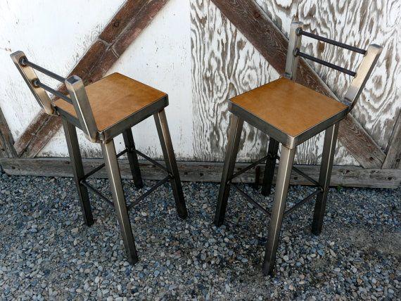 die besten 25 barhocker aus metall ideen auf pinterest gewerbliche barhocker holz barhocker. Black Bedroom Furniture Sets. Home Design Ideas