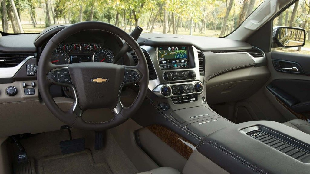2015 Suburban Large Suv Interior Photos Chevy Tahoe Interior