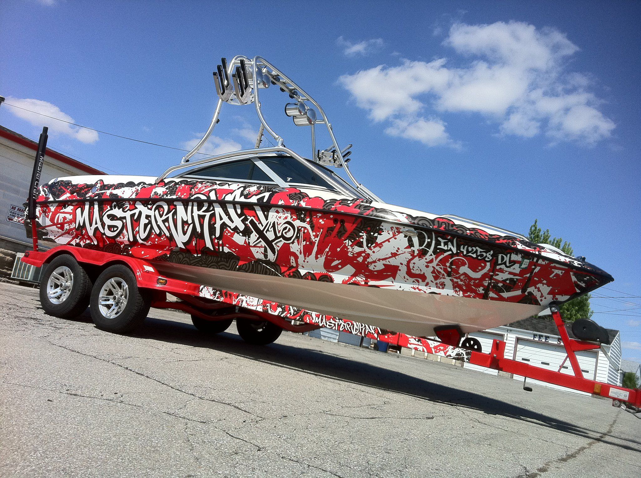Boat Wrap Graphics Boat Wraps Mastercraft Boat Cool Boats