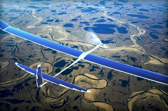 Googles Project SkyBender aims to beam 5G internet from solar-powered drones