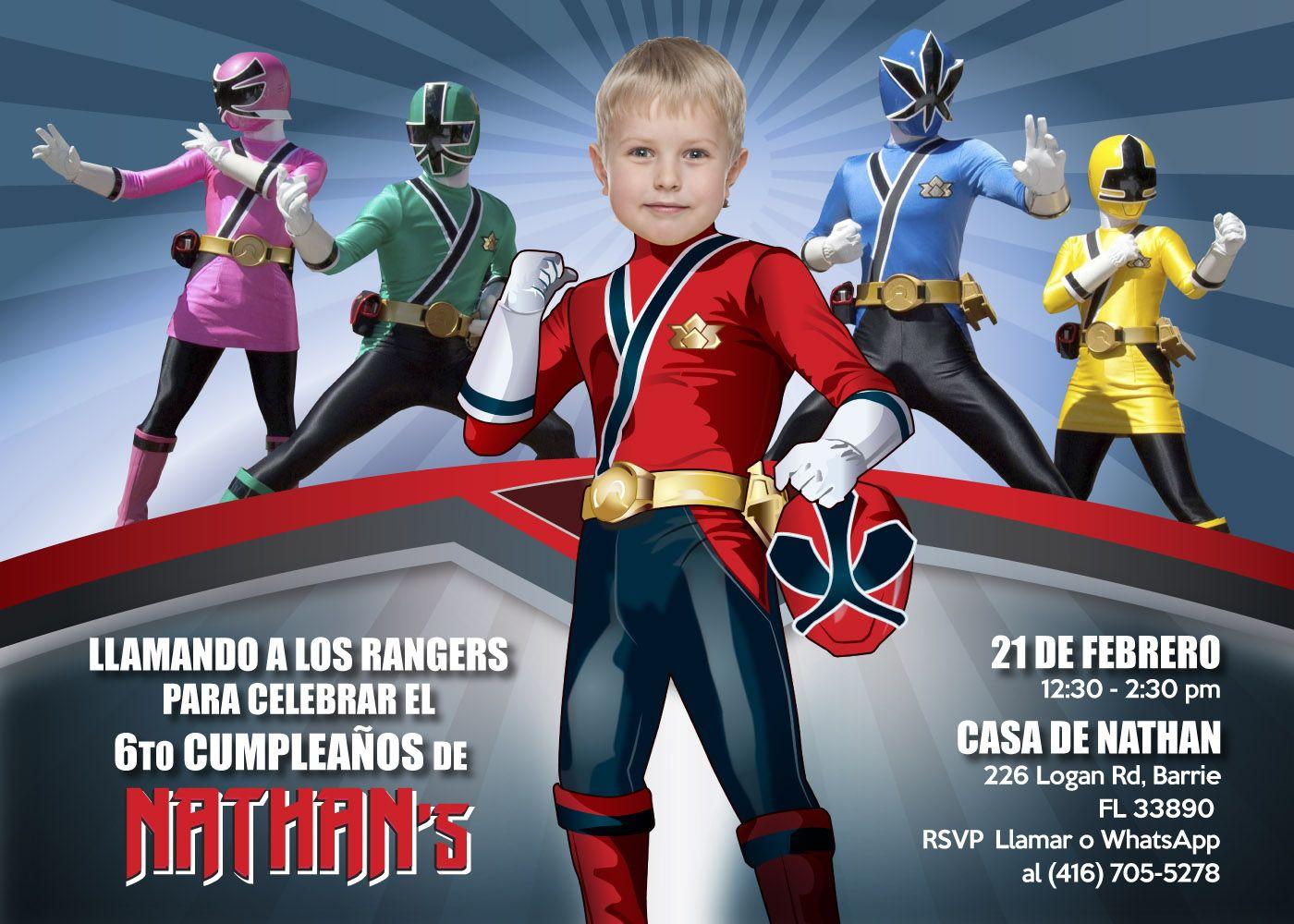 Convierte A Tu Pequeño En Su Favorito Power Ranger