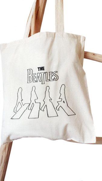 Canvas totes - The Beatles - Een uniek product van Kleur-Design op DaWanda
