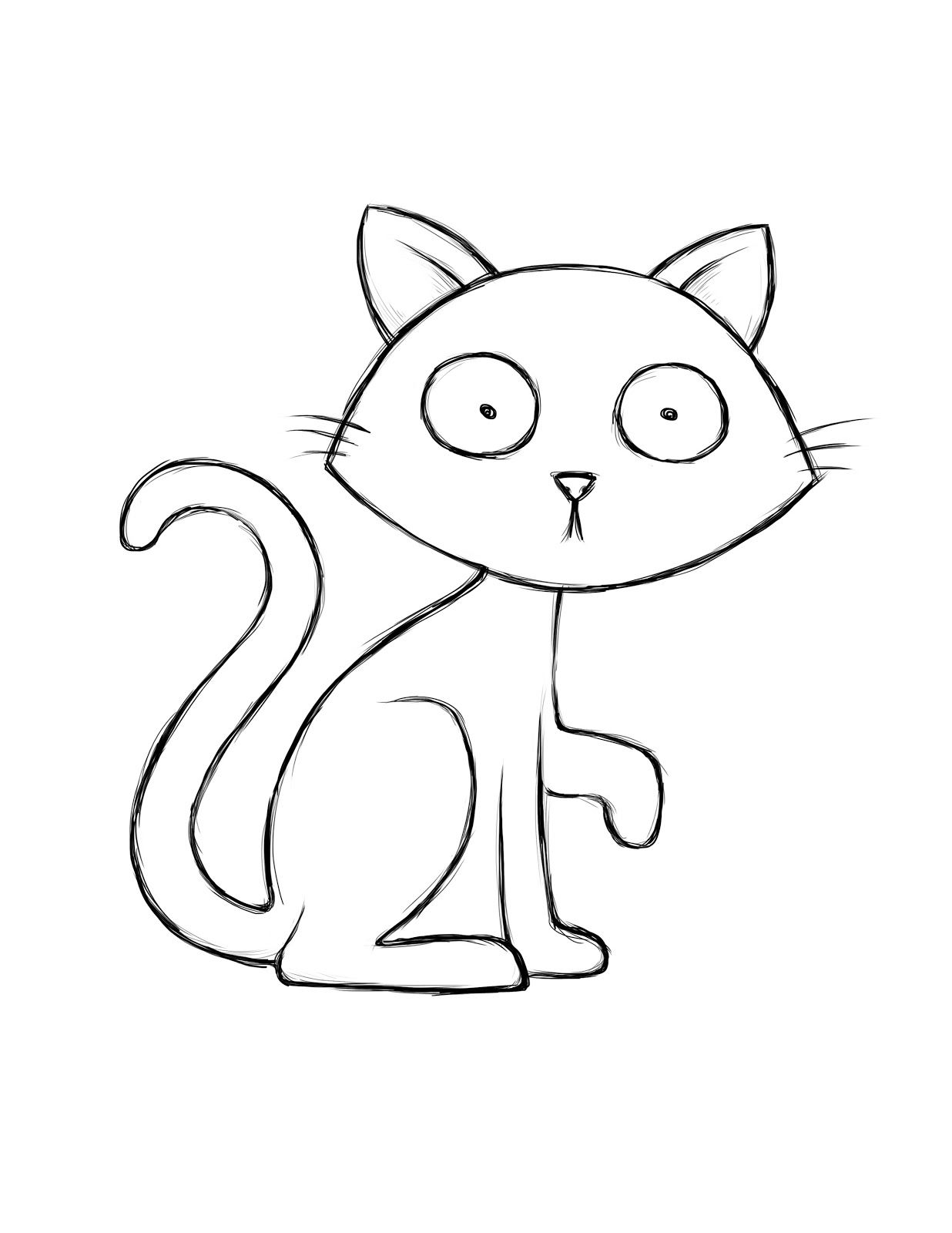 Cat Coloring Book Pages Google Search