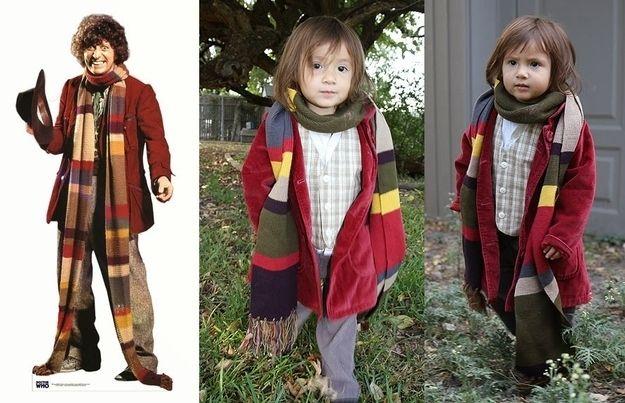 Little Girl Dresses up as All 11 Doctors--Coolest little girl ever!