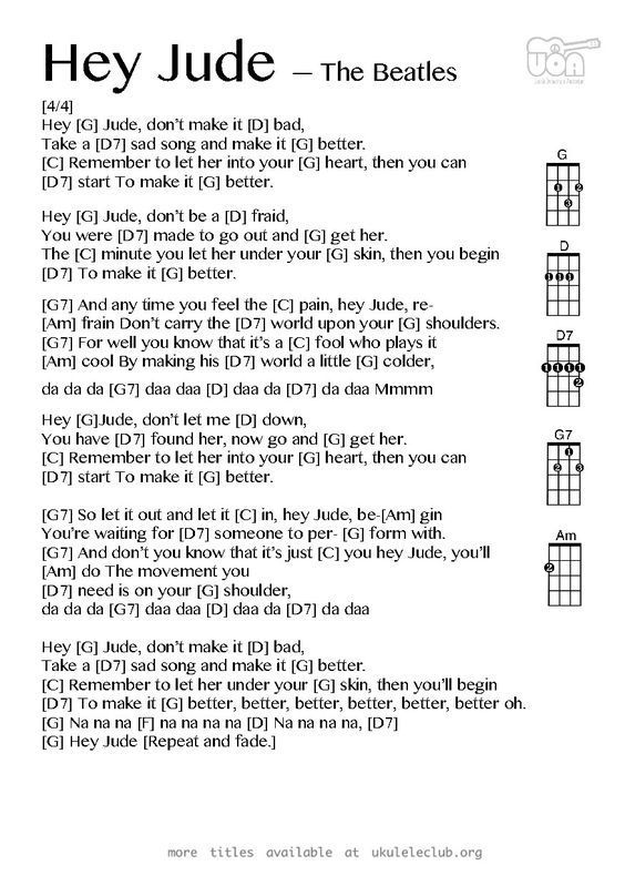 PDF thumbnail should appear here | Everything Uke!<3 | Pinterest ...