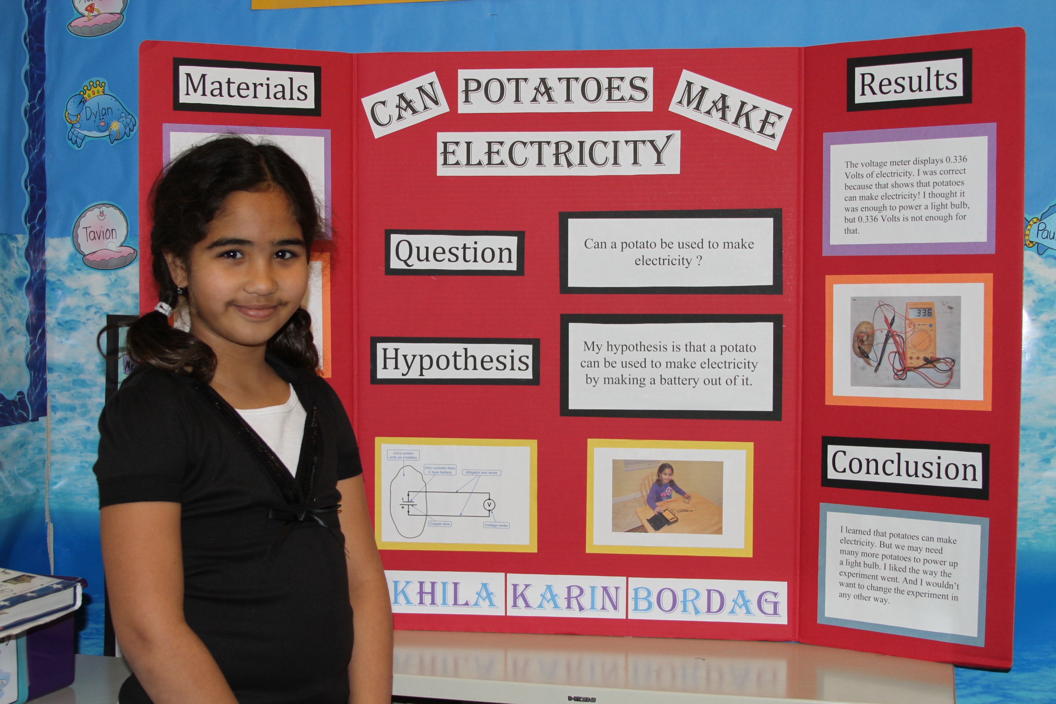 high school science fair projects | green elementary school science