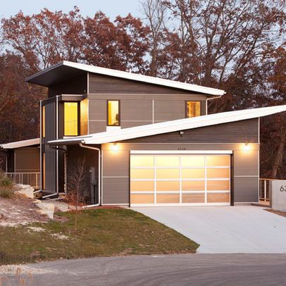 Sloped Roof Design Pictures Remodel Decor And Ideas Page 2 Garage Door Design Building A Shed Roof House Roof