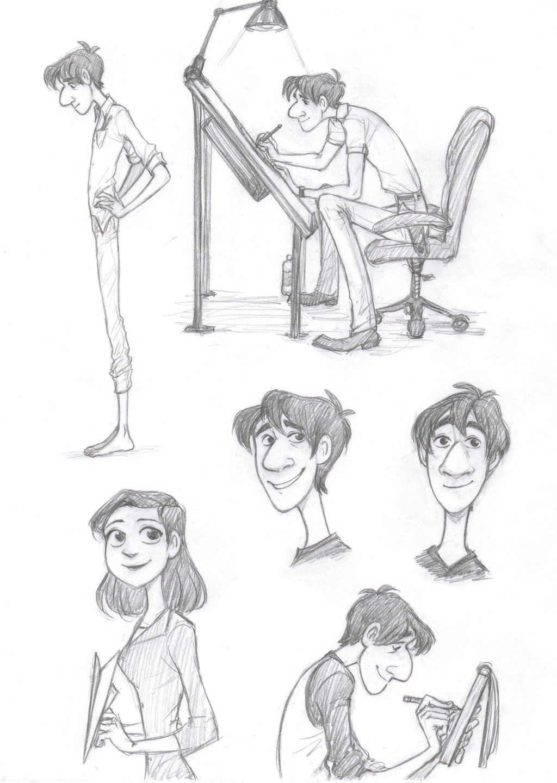 deviantart character sketches - photo #11
