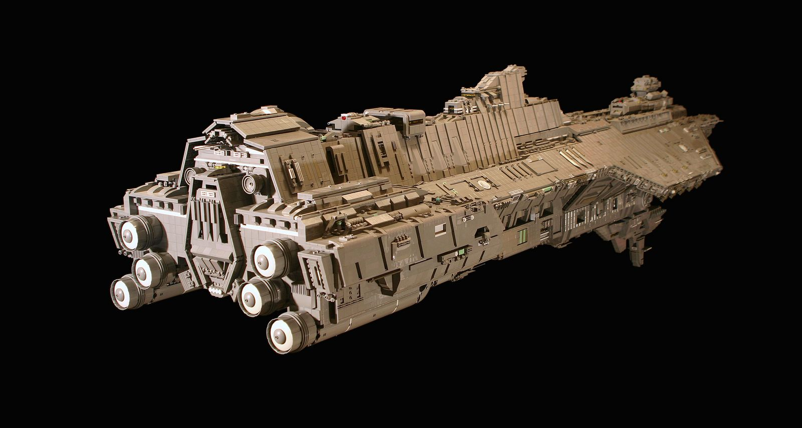 UNSC Spirit of Fire | Lego | Lego halo, Lego spaceship, Lego