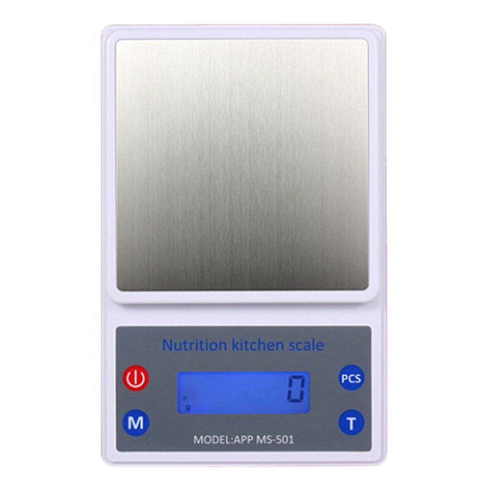 Led Based Nutrition Kitchen Digital Scale 3000g
