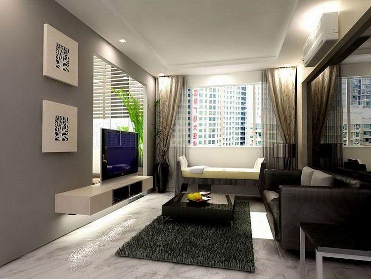 sala-apartamento-decorado-pequeno-1.jpg 750×563 pixels | Decoração ...