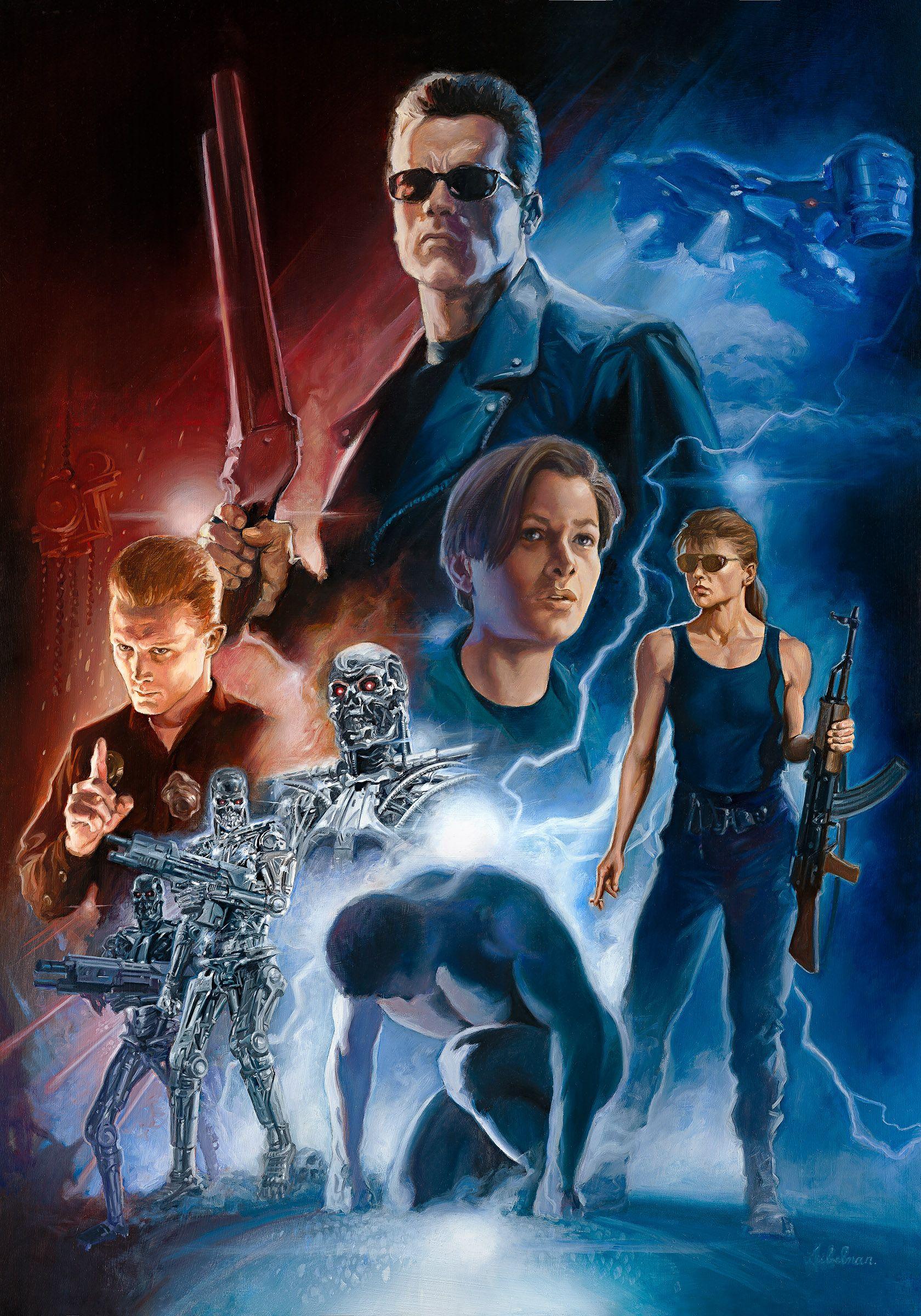 Terminator 2 : Judgement Day by Leo Leibelman | Marvel movies, Terminator  movies, Terminator