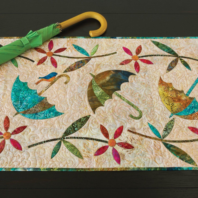 GO! Spring Showers Table Runner Pattern by Edyta Sitar (PQ10318 ... : edyta sitar quilt patterns - Adamdwight.com