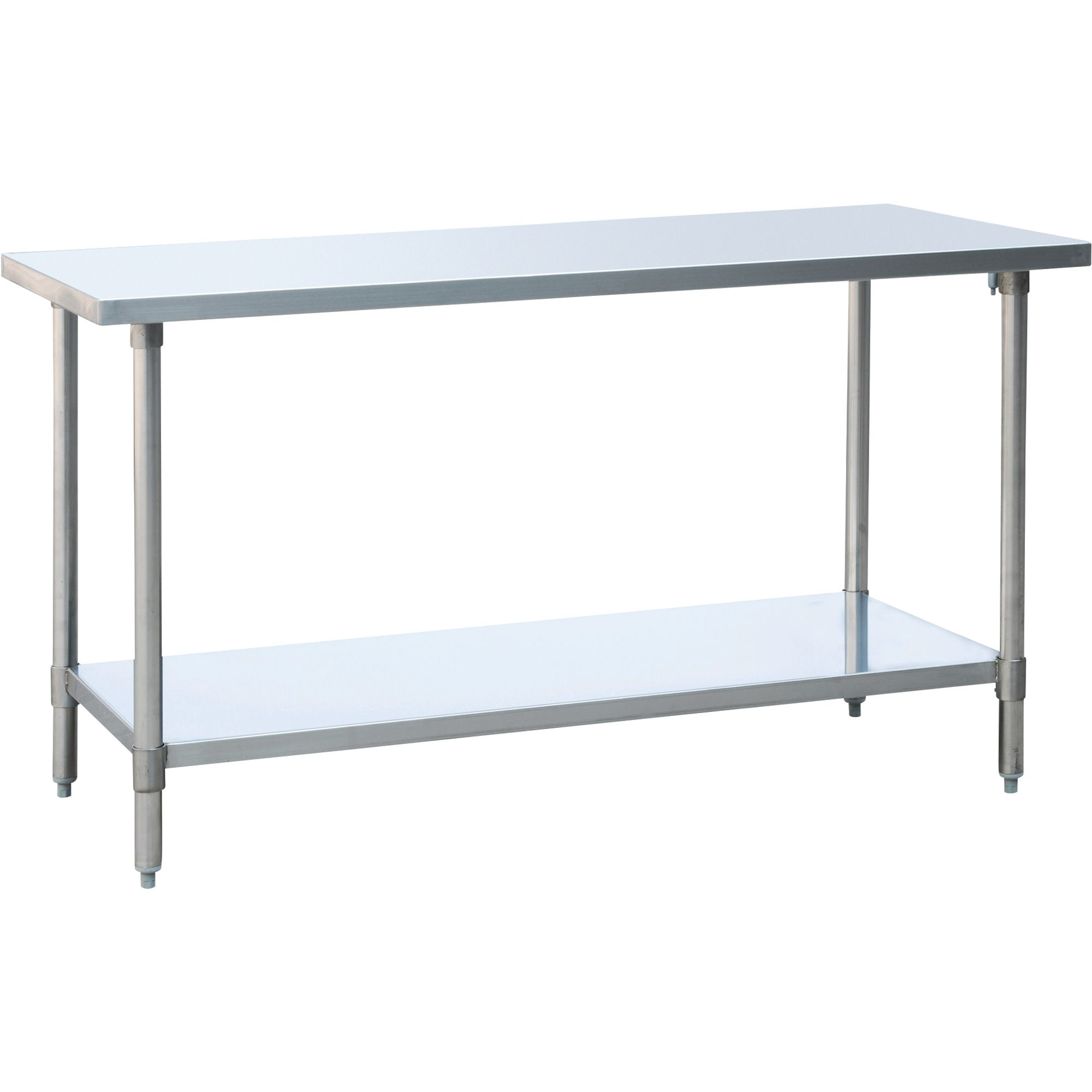 Roughneck Stainless Steel Work Table 72in W X 24in D X 35in H Stainless Steel Work Table Work Table Steel Workbench