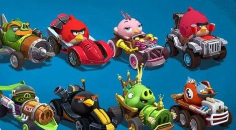 Angry Birds Go Soapbox Karts Super Fly Cars And Race Tracks In 2020