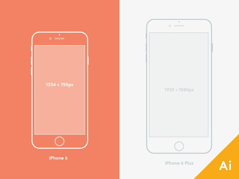 Pin by css author on free vector mockup pinterest mock up free iphone 6 and 6 plus mockups vector titanui pronofoot35fo Choice Image