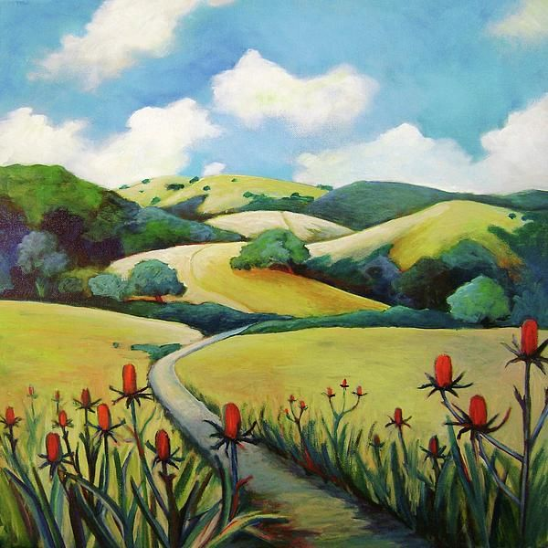 Rolling Hills To Skyline By Stephanie Maclean Rolling Hills