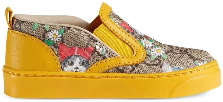 3eba60d6289 Love these.Toddler GG Gucci pets and flowers sneaker. Toddler ...