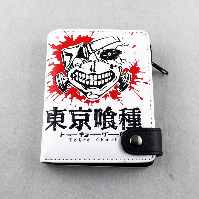 PU Leather Tokyo Ghouls Prints Wallet Animation Products $11.50  #Lovejoynet #Animation