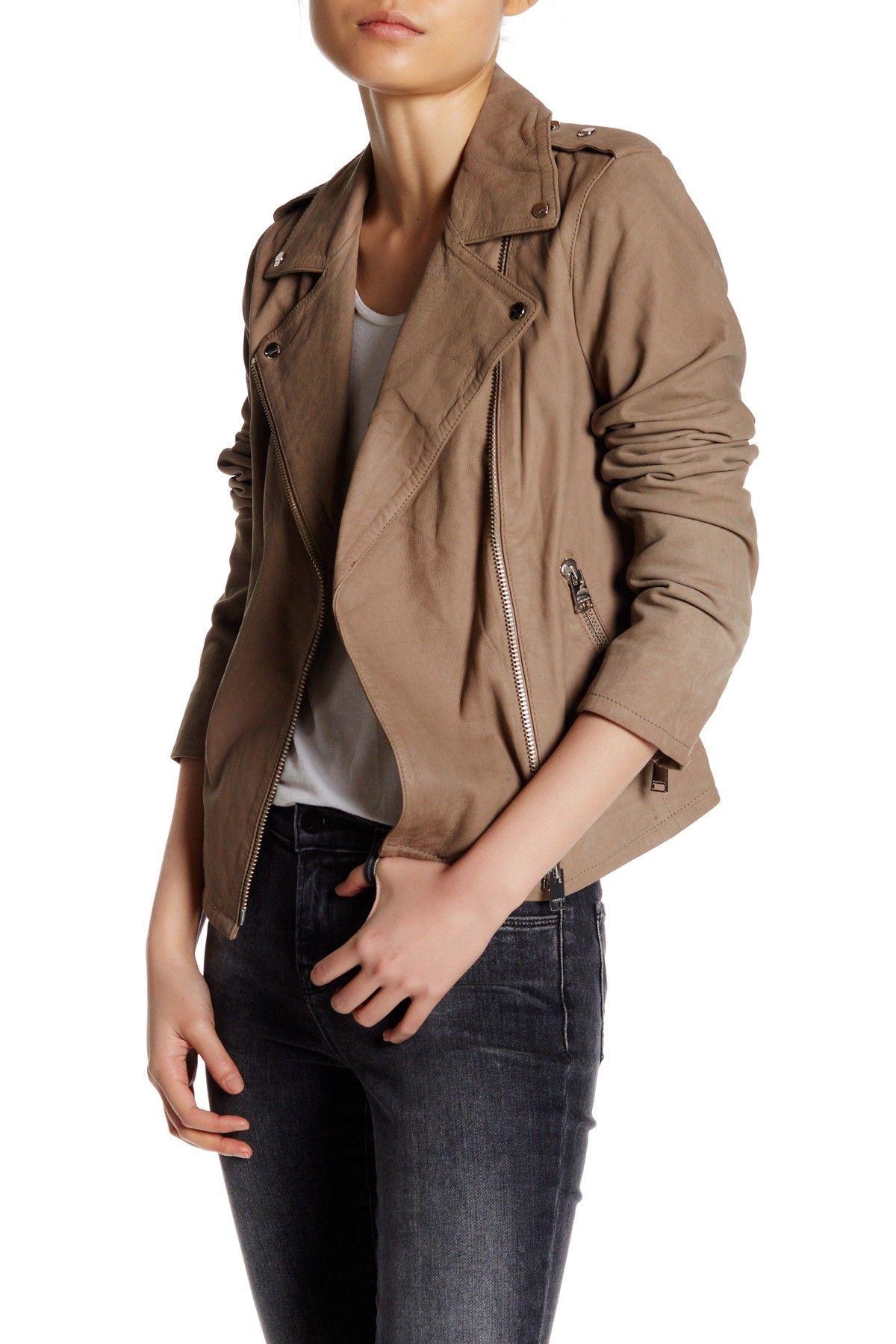 Genuine Lambskin Winter Warm Leather Jacket in 2020