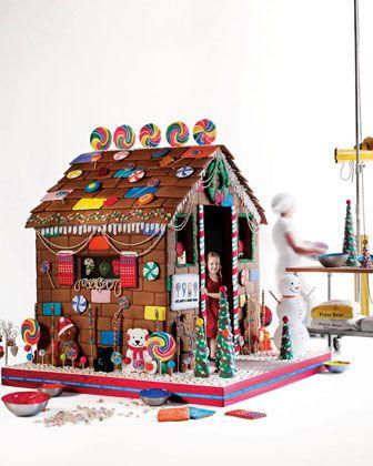 Life Sized Gingerbread Playhouse Actually I Kinda Wanna Make One