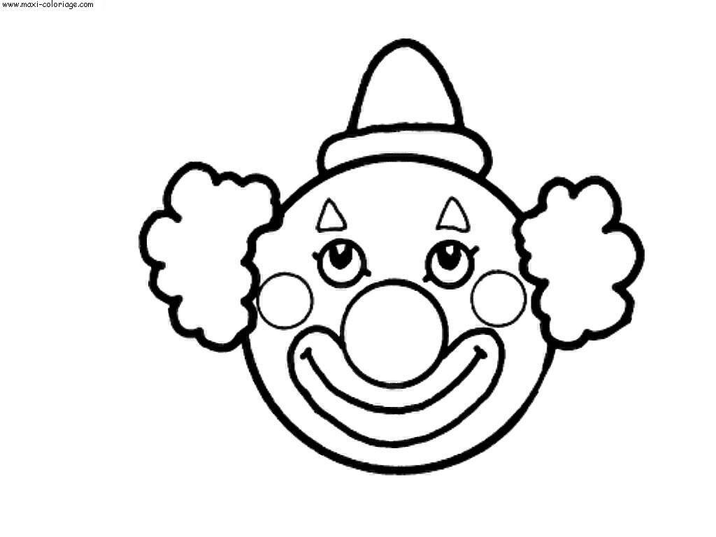 Resultat De Recherche D Images Pour Masque De Clown Clown Gezichten Knutselen Clown Clowns