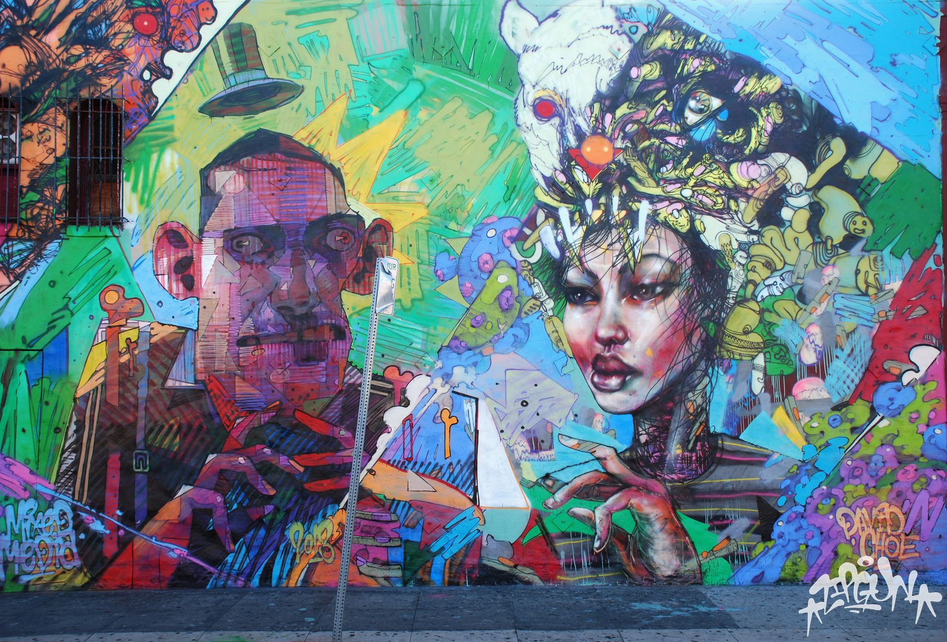 David choe graffiti artist best street art outdoor art street artists murals
