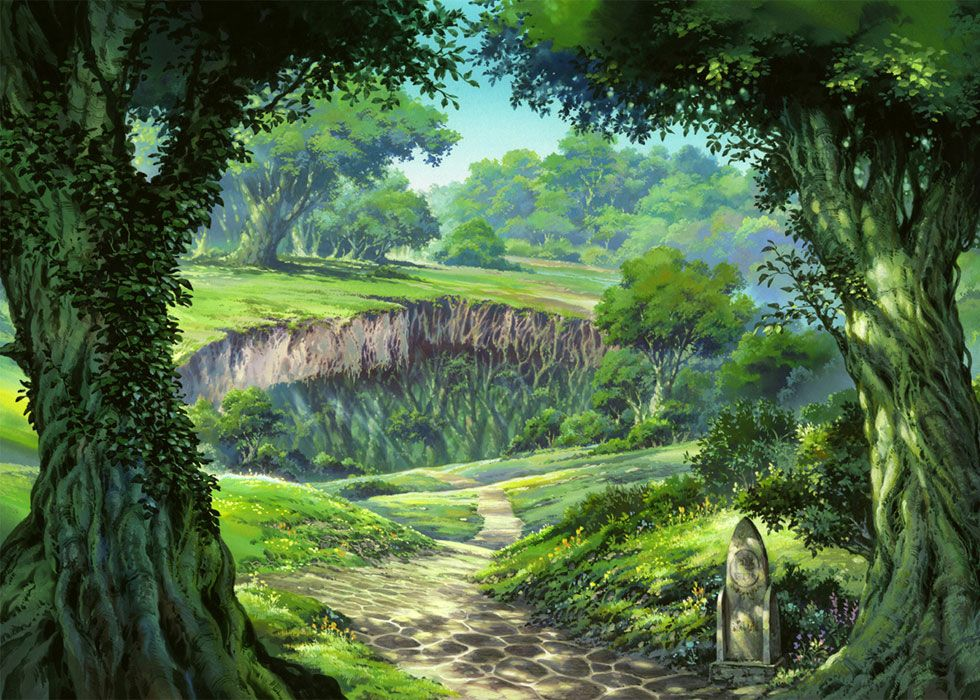 Etrian Odyssey Environment Artwork Fantasy landscape