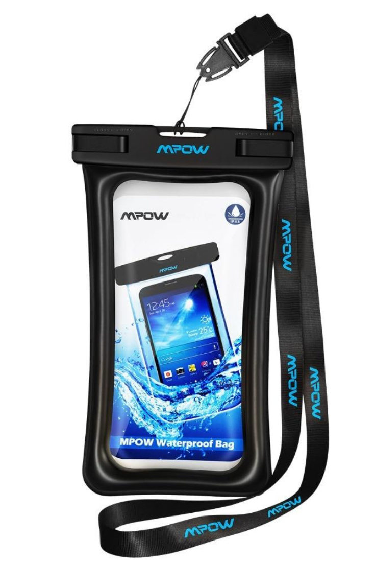 Enjoy your water experience using your mobile phone with