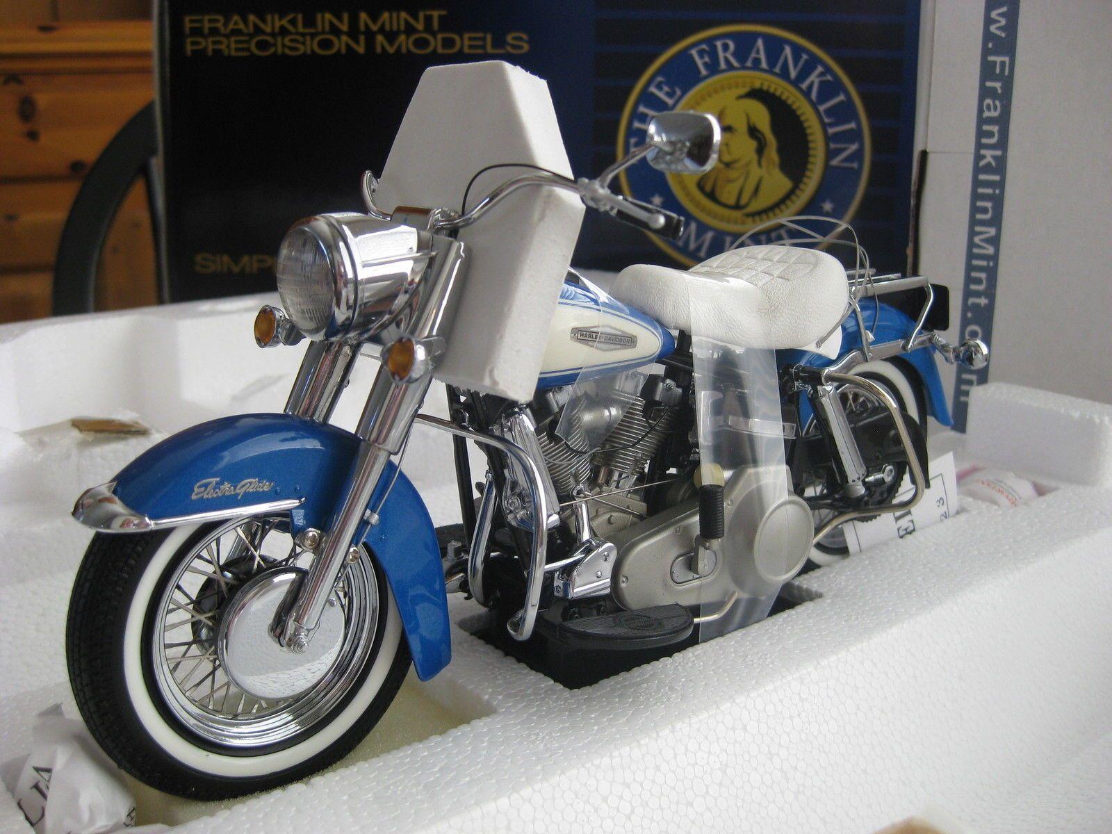 Franklin Mint B11f076 Harley Davidson 1966 Flh Electra Glide