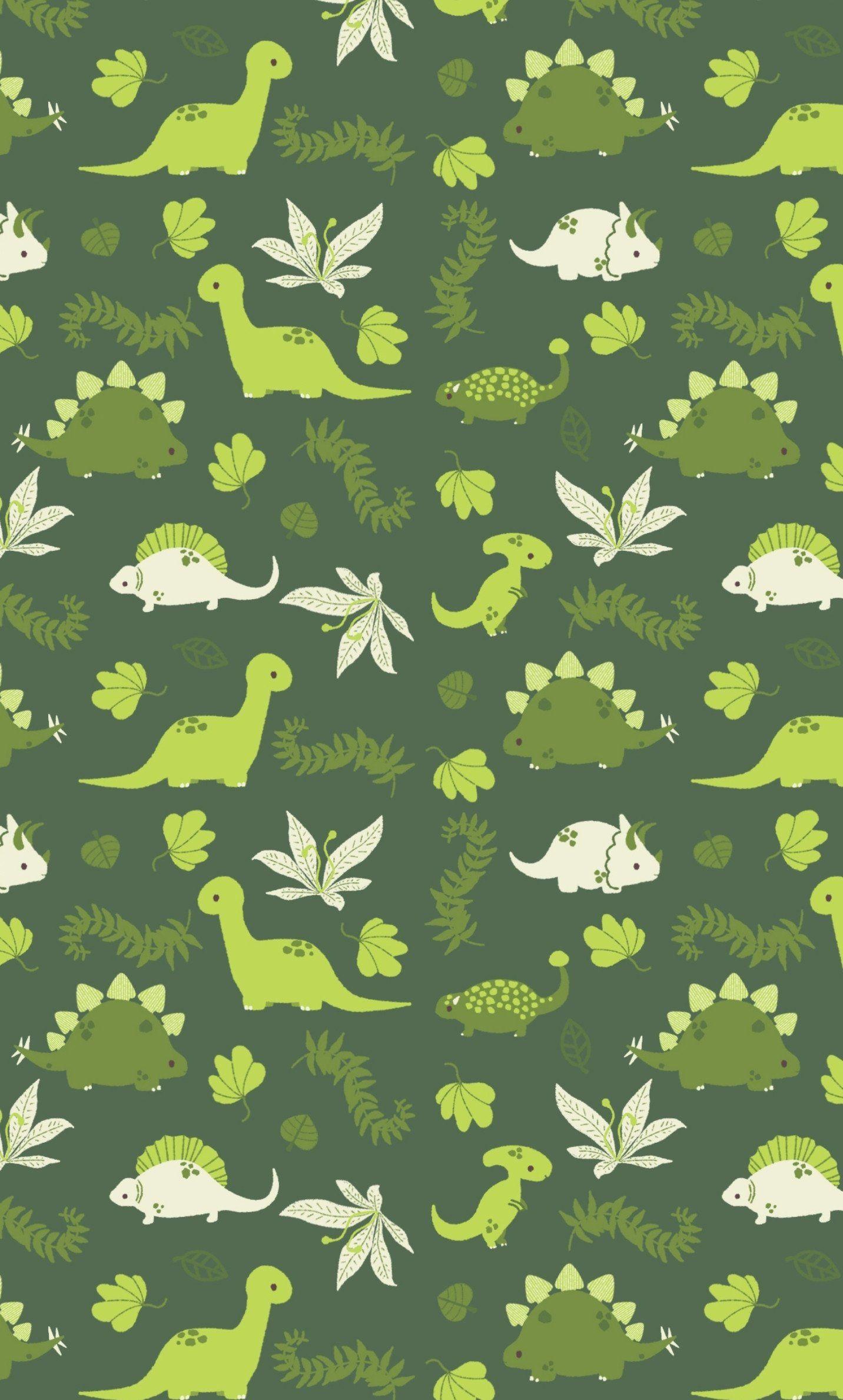 Cute Little Dinosaurs Smart Phone Wallpapers 4kphonewallpapersreddit Iphonewallpapersred Cute Patterns Wallpaper Wallpaper Iphone Cute Dinosaur Wallpaper