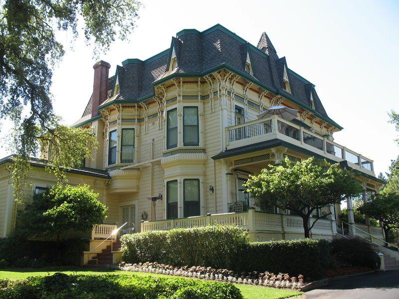 Madrona Manor Empire House Victorian Homes Manor