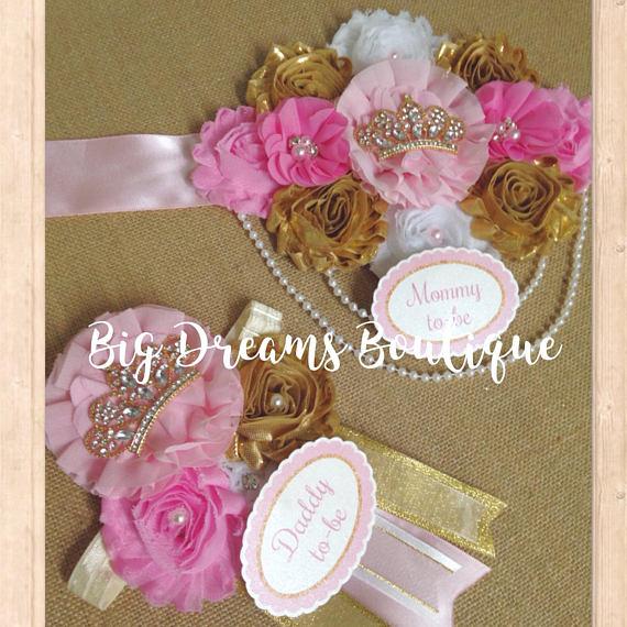 46182e9c927 Royal Princess Maternity Sash for Baby Shower