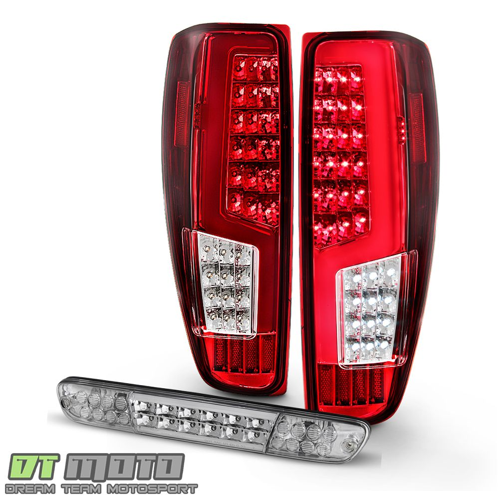 Ad Ebay 2004 2012 Chevy Colorado Gmc Canyon Red Led Tail Lights Lamps Led 3rd Brake Lamp In 2020 Led Tail Lights Tail Light Red Led