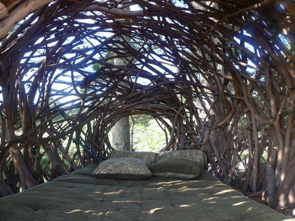Unusual Hotels The Nest Treebones Sur California