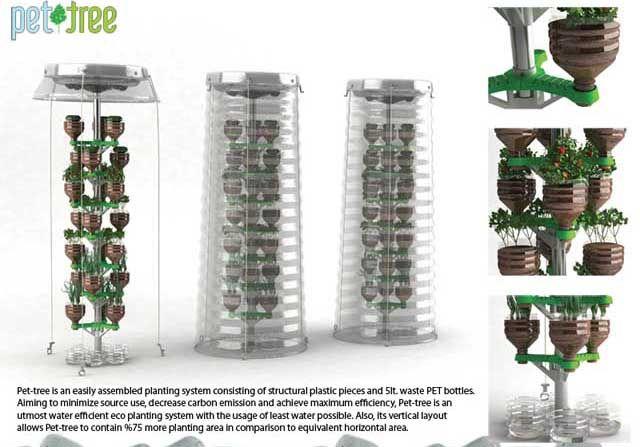 Pet tree sistema de cultivo vertical sistema de cultivo for Cultivos verticales definicion