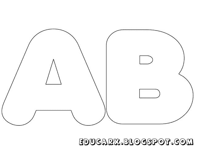Educar X: Modelos de letras e números | LETRAS | Pinterest ...