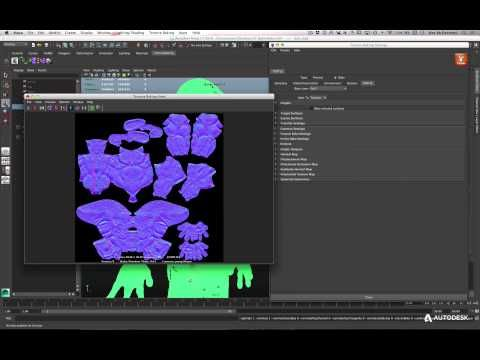 Maya LT for Unity Developers: Texture Baking with Turtle - YouTube