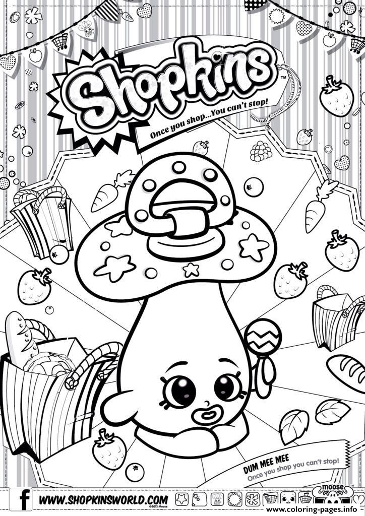 Shopkins Season 2 Coloring Pages Printable And Book To Print For Free Find More Online Kids Adults Of