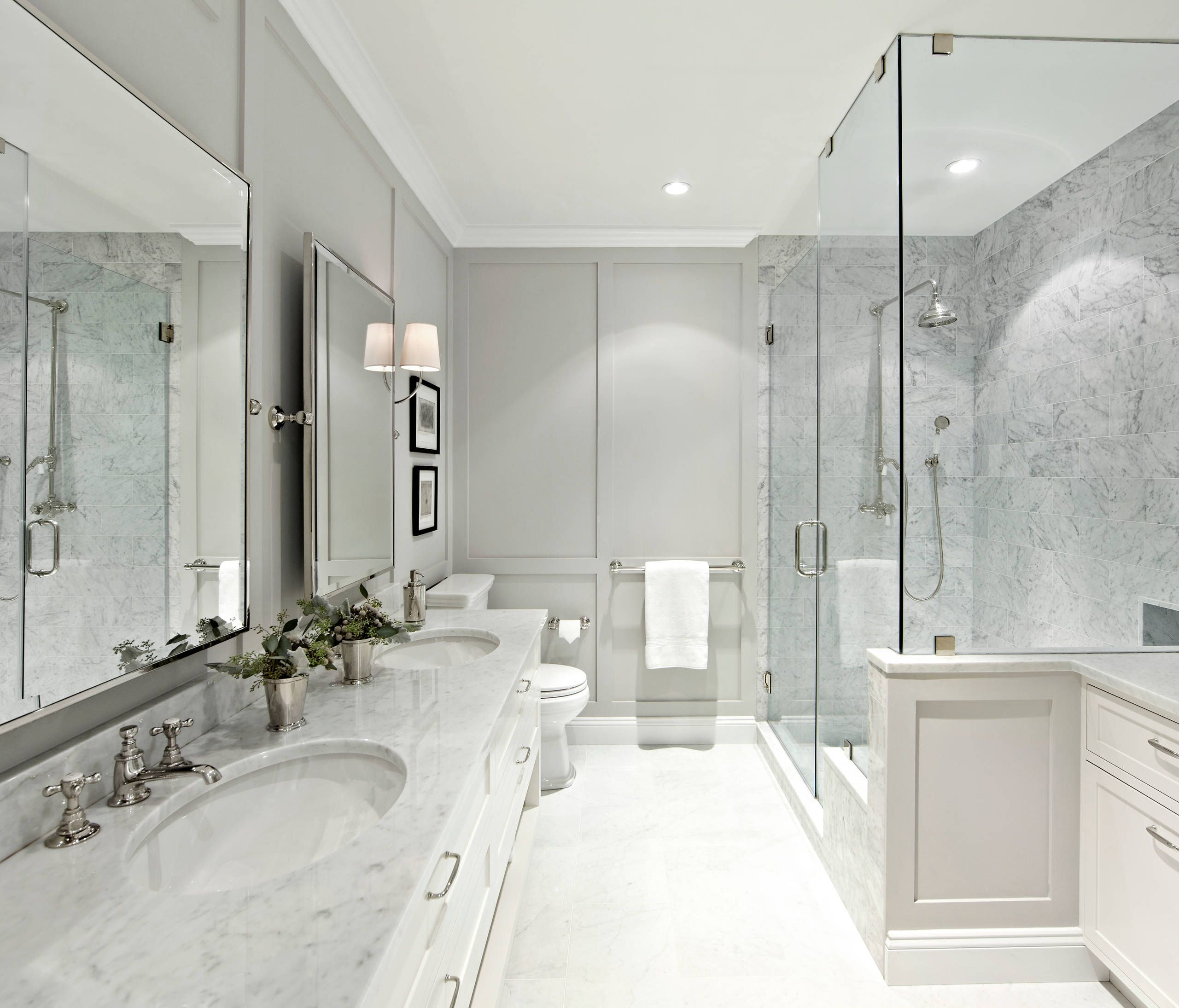 56 Ideas For An Elegant Master Bathroom