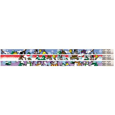 Snow Buddies Pencil 144/Gross. Great for classroom prizes and incentives.