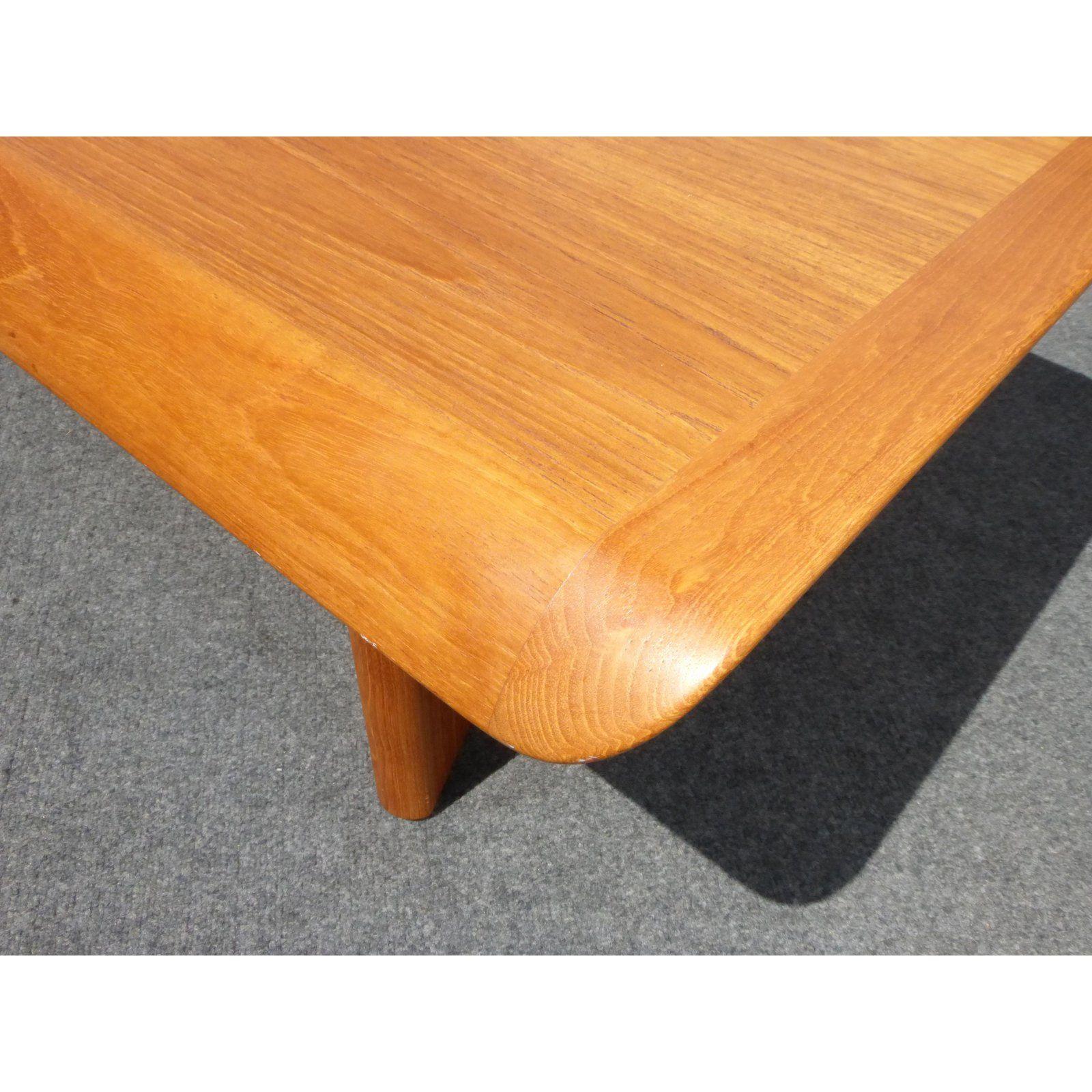 Vintage Danish Modern Teak Coffee Table Made In Canada By Nordic Furniture Nordic Furniture Teak Coffee Table Coffee Table